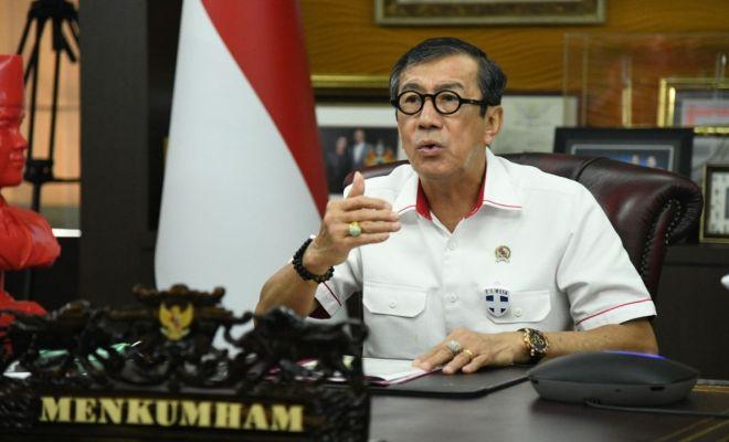 Yasonna: Tolong Pak SBY dan AHY Jangan Main Tuding