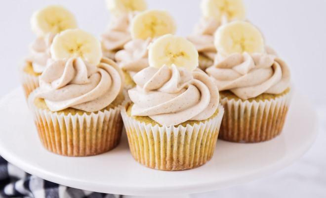 Resep Cupcake Pisang dengan Buttercream dan Karamel