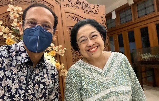 Santer Bakal 'Dibuang' Jokowi, Nadiem Gerak Cepat Sowan ke Megawati