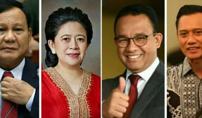 Simulasi Pilpres 2024, Hasil Survei Indomatrik: Prabowo-Puan Tertinggi Diikuti Anies-AHY