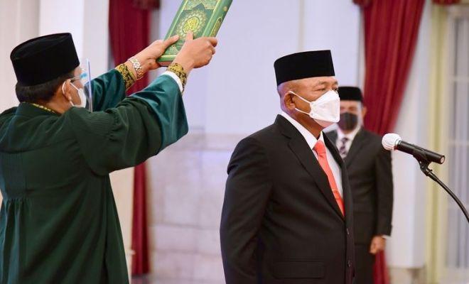 Doni Monardo Diganti, Jokowi Tunjuk Ganip Warsito sebagai Kepala BNPB