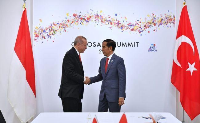 Jokowi Bicara dengan Erdogan Bahas Kondisi Terkini Palestina