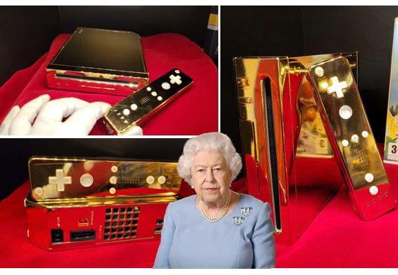 Kolektor Jual Nintendo Wii Emas Ratu Elizabeth, Harga 4,3 Miliar