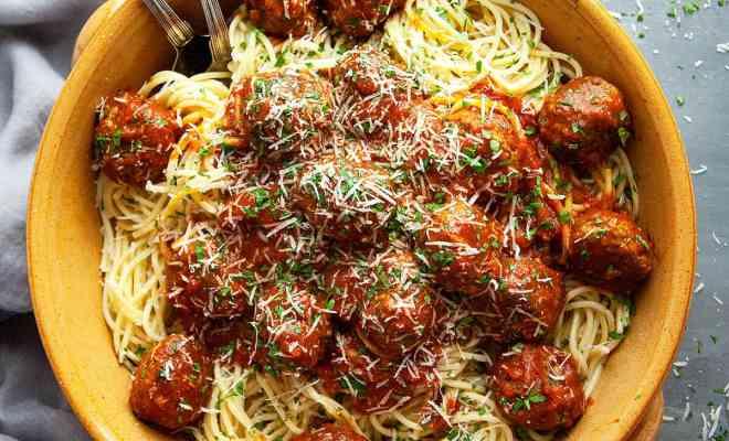 Resep Spaghetti Meatball untuk Menu Buka Puasa