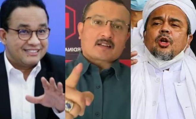 Muncul Wacana Liar Rizieq Shihab-Anies Baswedan, Ferdinand: Cocok Ini!
