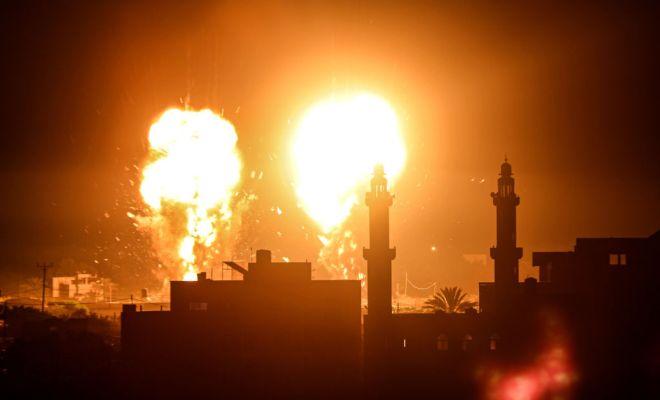 Lagi, Israel Serang Gaza