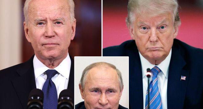Trump Sindir Biden: Jangan Tidur Saat Bertemu Putin