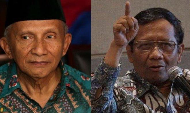 Mahfud MD Berterima Kasih ke Amien Rais Soal Temuan TP3 pada Kasus Terbunuhnya 6 Anggota FPI