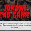 Cuma Heboh di Medsos, Seruan Aksi 'Jokowi End Game' Tak Terealisasi