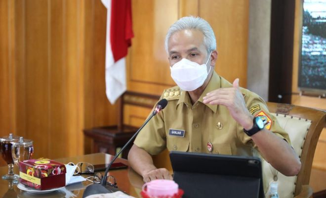 Kasus Covid di Jawa Tengah Naik Terus, Ganjar: Gubernurnya Nggak Pinter!