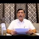 Angka Kasus Kematian Covid Melejit, Luhut Beri Arahan Anies-Ganjar Cs