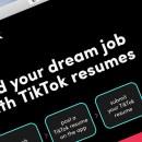TikTok Resume, Fitur Baru untuk Lamar Pekerjaan