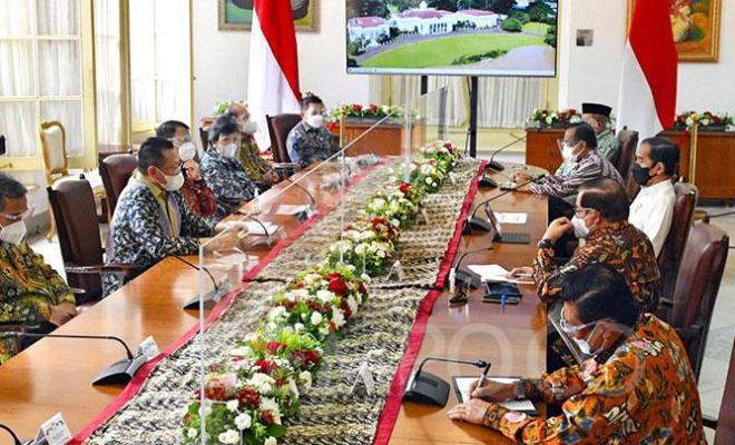 Jawaban Jokowi Saat Ditanya MPR Soal Amandemen Masa Jabatan Presiden