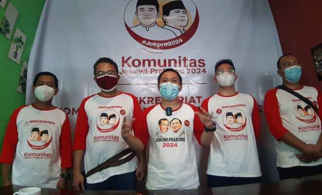 Komunitas Jokpro 2024 Banten Deklarasi Dukung Jokowi-Prabowo