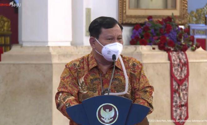 Prabowo: Keputusan Presiden Jokowi Tangani Pandemi Cocok untuk Rakyat