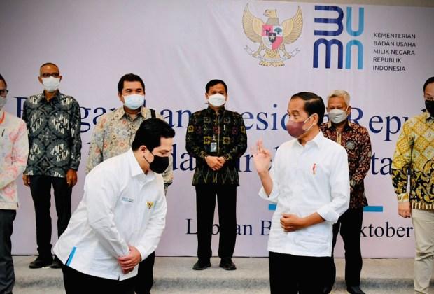 Jokowi Malu, BUMN Sudah 'Dibukain' Pintu tapi Tidak Merespons