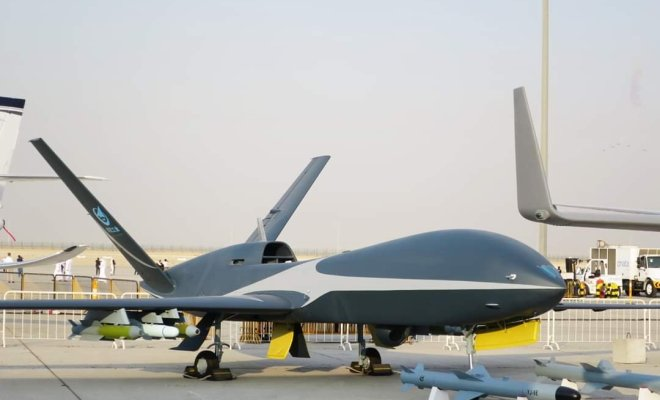 China Ciptakan Drone Canggih yang Mampu Bawa Rudal Berat