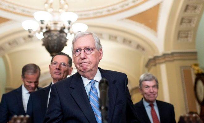 Hindari Krisis Keuangan, Senat AS Setujui Peningkatan Jangka Pendek Pinjaman