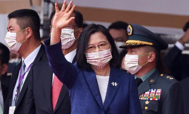 Presiden Taiwan: Kami Pantang Tunduk pada Tekanan China
