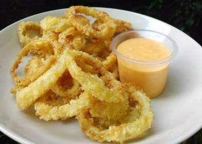 Resep Onion Ring Saus Honey Mustard