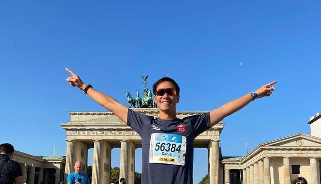Selesaikan Berlin Marathon, Daniel Mananta: Kalahkan Diri Sendiri