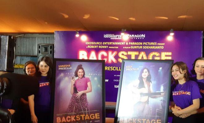 Sissy Prescillia dan Vanesha Prescilla Adu akting di Film 'Backstage'