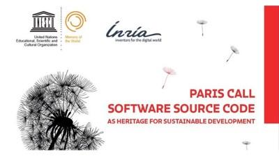 L'Appel de Paris sur le Code Source des logiciels est sorti!