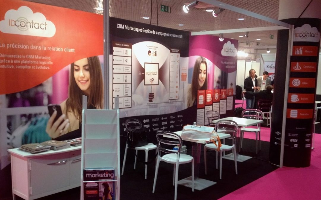 Tildigital accompagne Id Contact au salon marketing meetings à Cannes