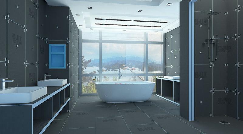 xps tile backer board shower tray shower base shower niche