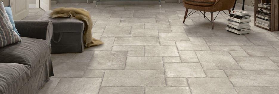 stone look porcelain tile