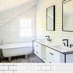 How To Choose The Best Grout Colors For White Subway Tiles