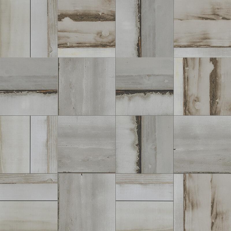 urban wood grey polished 6x6 inch digital printed porcelain floor wall code uw153lr