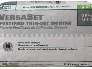 Versaset Thin-Set Gray