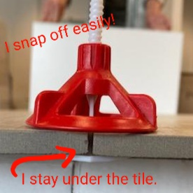 russo spin doctor tile spacer leveling cap