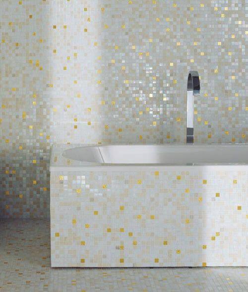 Image result for white glitter tile