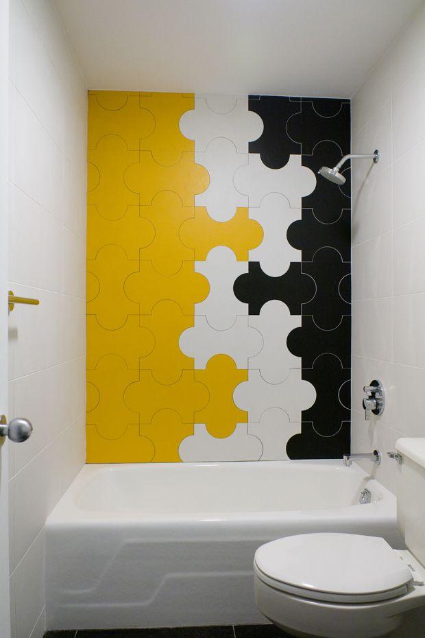 22 Beautiful Bathroom Tiles Yellow