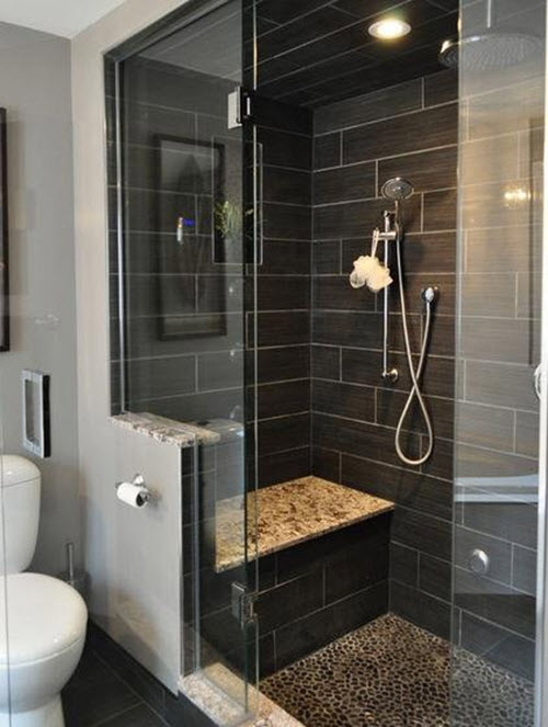 40 Gray Shower Tile Ideas And Pictures 2019