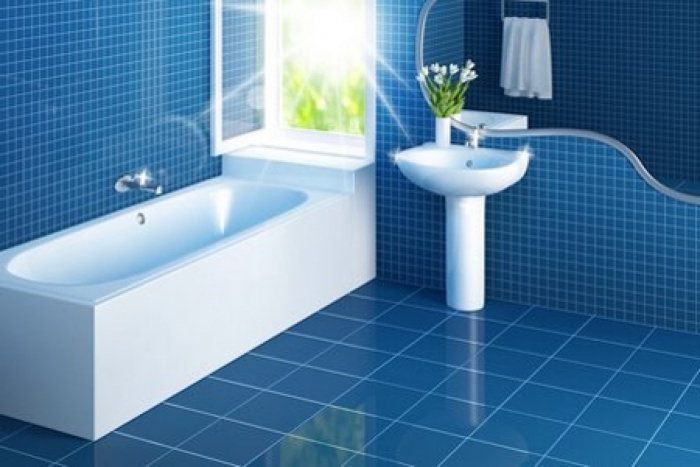37 Sky Blue Bathroom Tiles Ideas And Pictures 2019