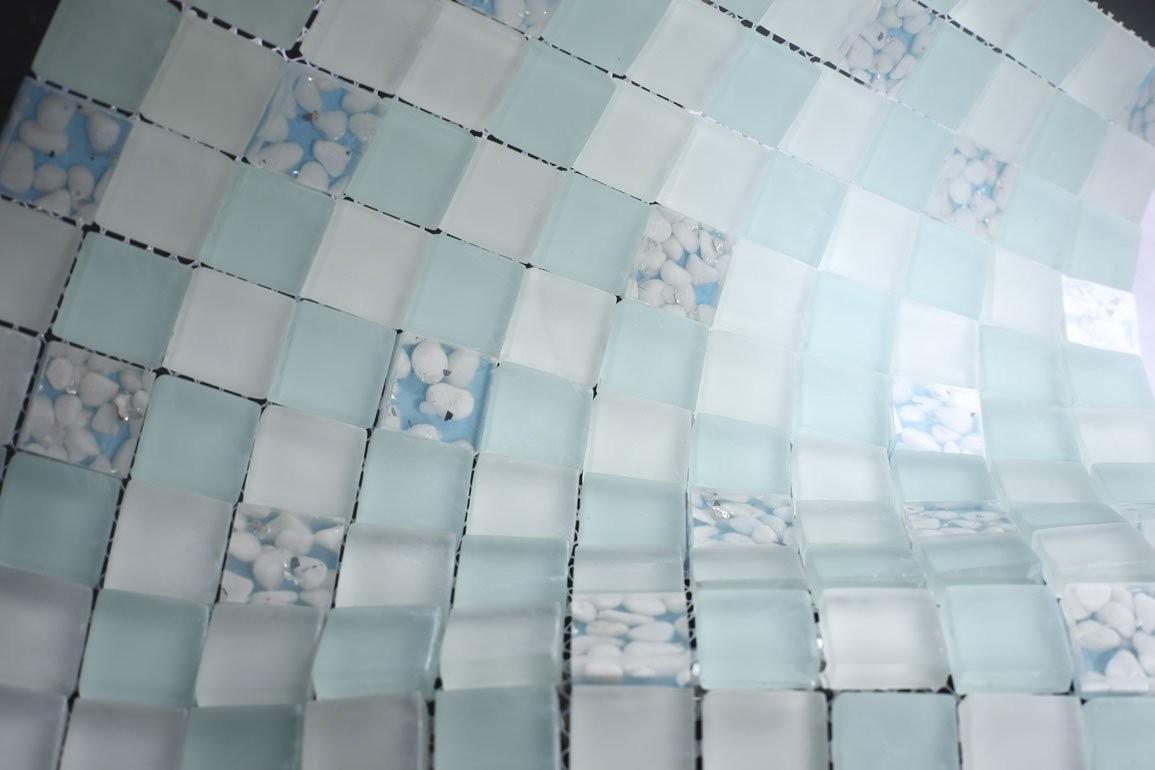 sea glass bathroom tile 2021