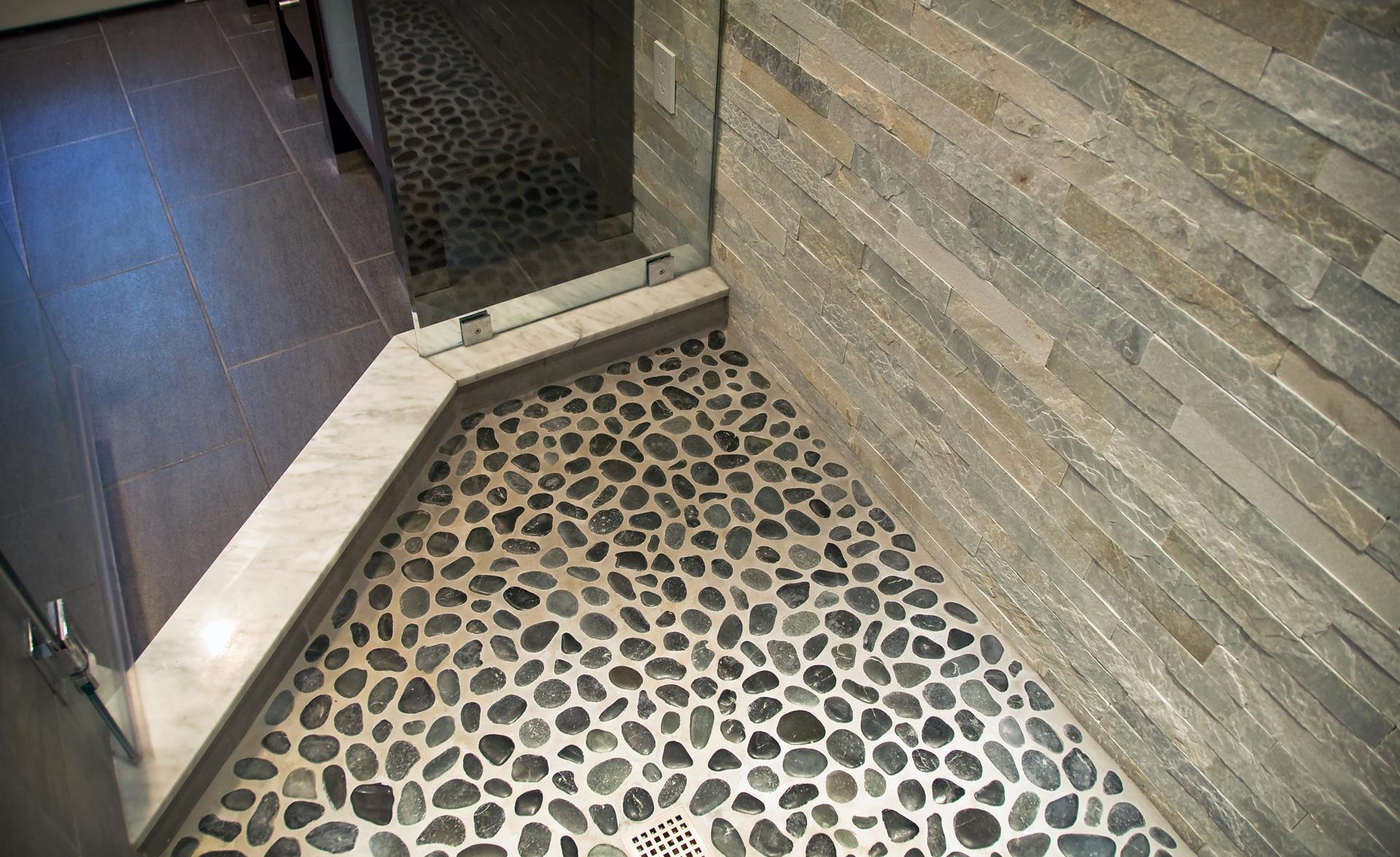 river rock tiles for the bathroom 2021