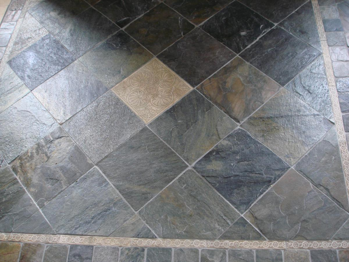 York Stone Kitchen Floor Tiles