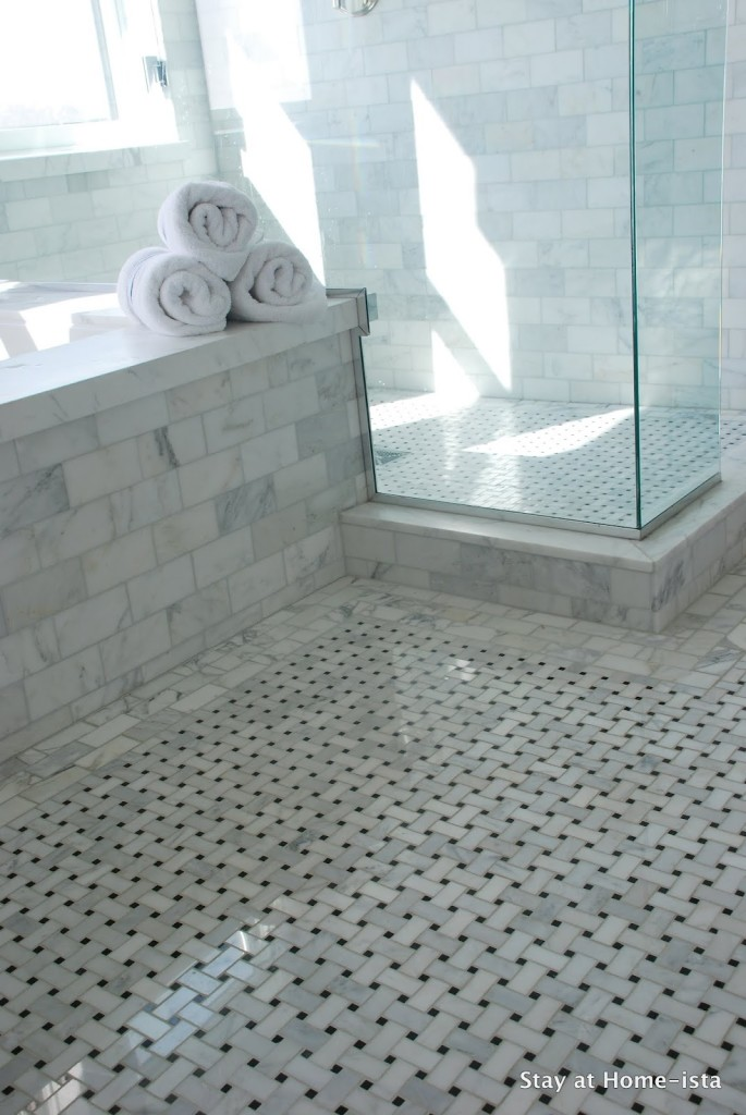 vintage hexagon bathroom tile 2021