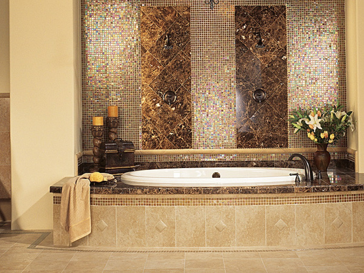 30 Cool Ideas And Pictures Of Bathroom Tile Art 2019