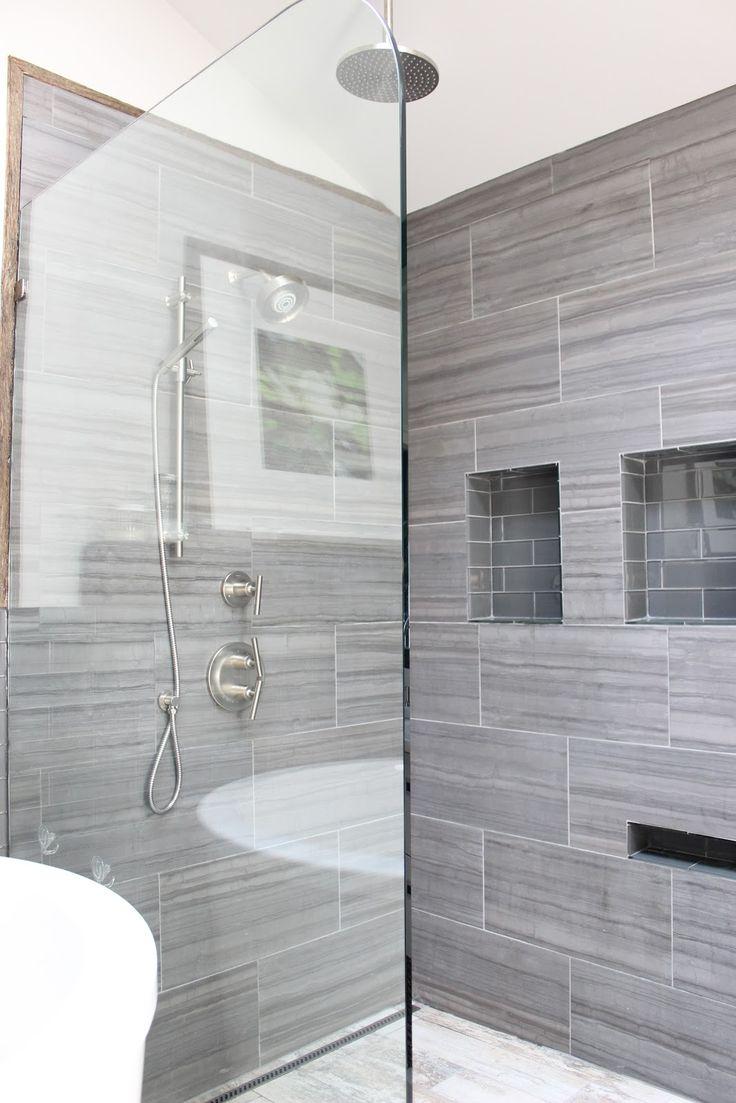 12x24 tile in small bathroom