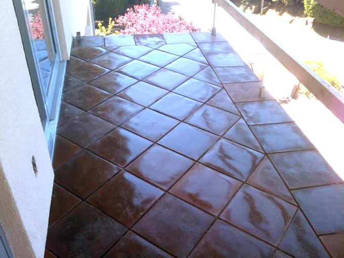 Floor Tile Installation Cost     Azulejo Fine Tile Installations red tile setting