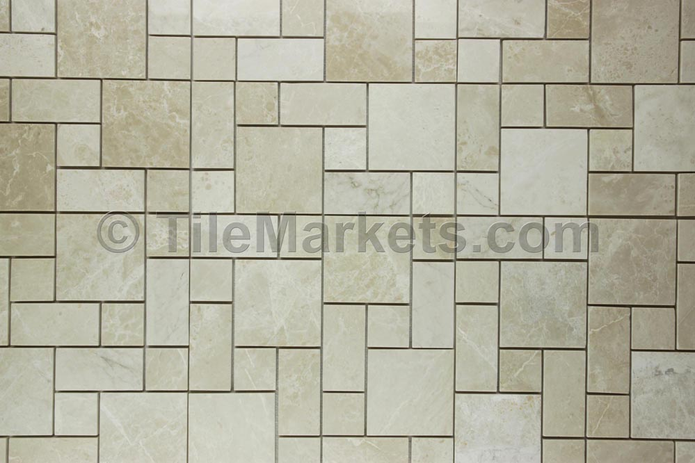 Pearl Marble Roman Pattern Tile Wholesale From TileMarkets