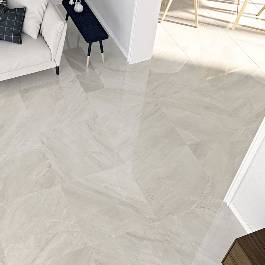 altai gris 24x24 polished marble look