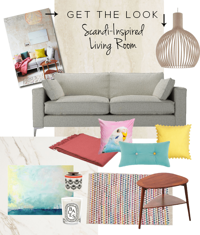 Get the Look Scandi Living Room