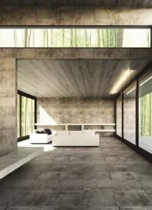 Weathered Concrete Effect Floor Tiles