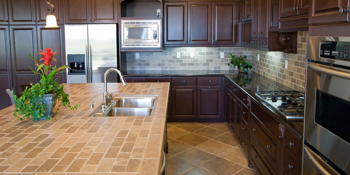 tiled kitchen worktops pros cons tile mountain